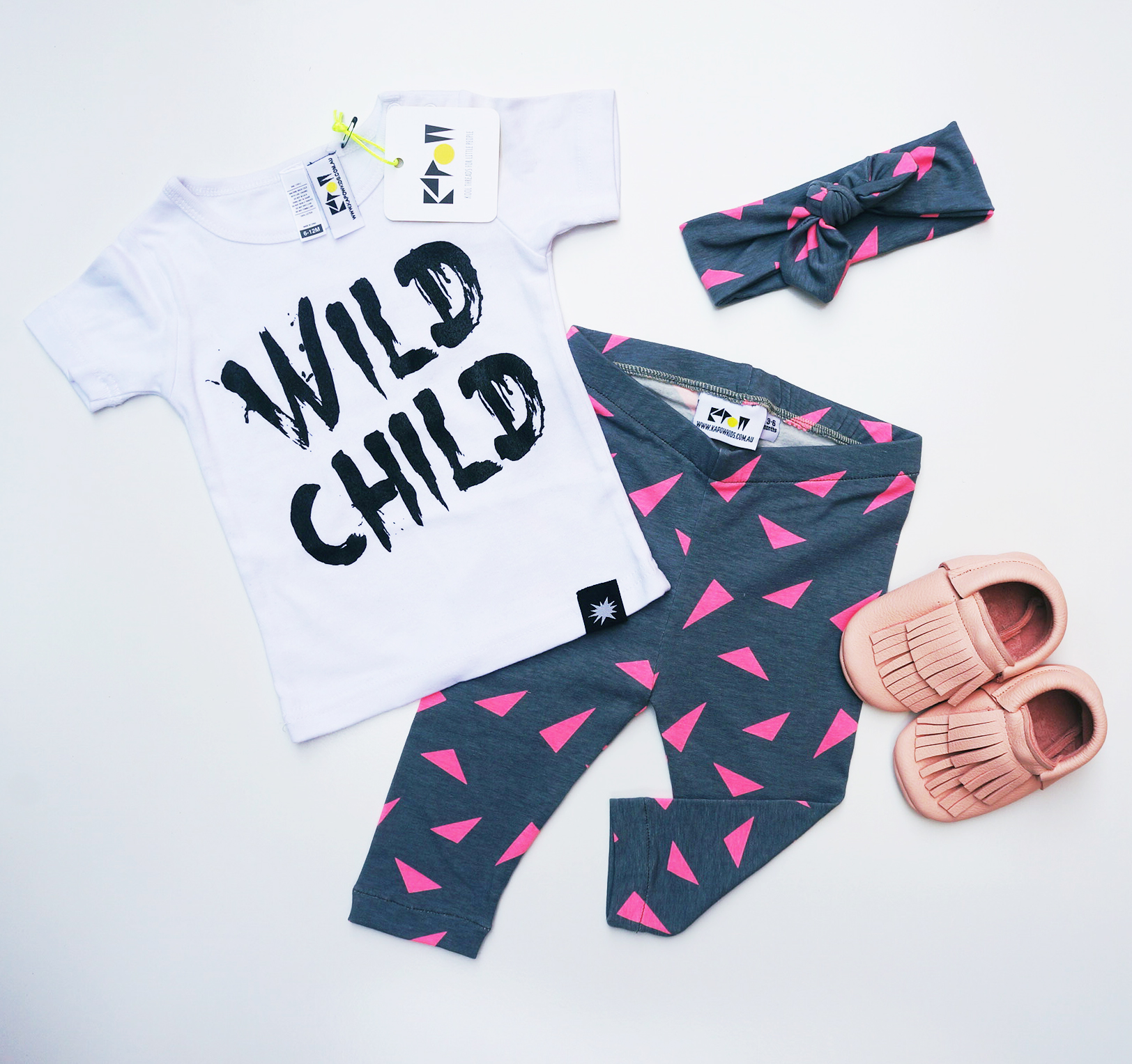 wild child_triangle leggings